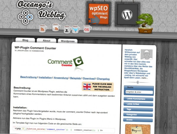 wp_comment_counter